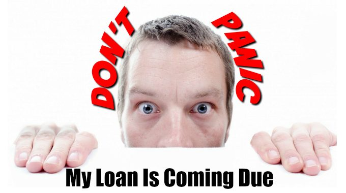 We Can Refinance Your Loan Don't Panic